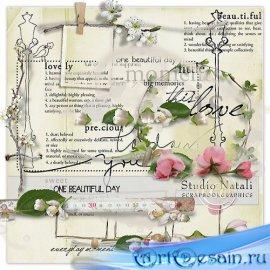 Весенний скрап-набор - One Beautiful Day