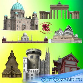 Клипарт – Архитектурные элементы