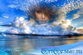 Рамка для фото - Морское небо