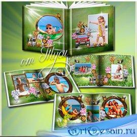 Детский фотоальбом с героями мультфильма