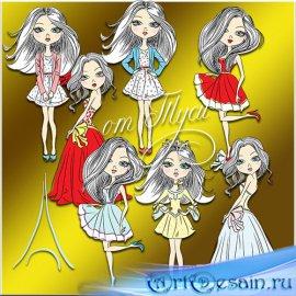 Куклы для девочек - Детский клипарт