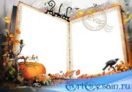 Фоторамка - Веселого Хэллоуина