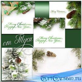 Зимние фоны / Winter backgrounds
