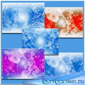 Новогодние фоны / Christmas backgrounds