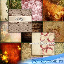 Растровые винтажные jpg фоны для фотошопа