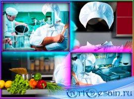 Шаблон psd для фотошопа - Кулинарный рецепт от шеф-повара