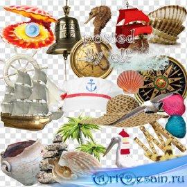 Морской PNG клипарт