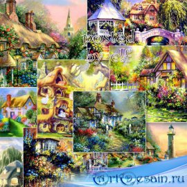 Сказочные фоны для фотошопа