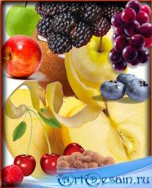 Pack клипартов - Фрукты и овощи png