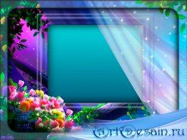 Красивая рамка - Под вуалью