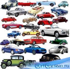 Png для фотошопа на прозрачном фоне -  Старинные автомобили