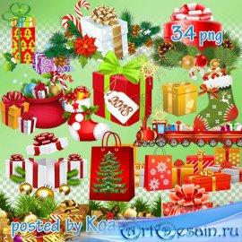 Зимний клипарт png на прозрачном фоне для фотошопа - Новогодние и рождестве ...