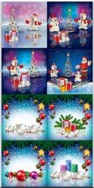 Новогодние фоны - Новогодние композиции / Christmas backgrounds - Christmas ...