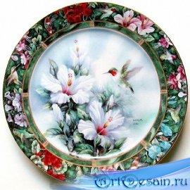 Золотая коллекция клипартов - Декоративные и столовые тарелки