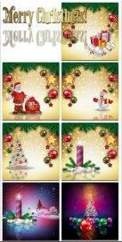 Новогодние фоны-Новогодние композиции.8 часть/Christmas backgrounds-Christm ...