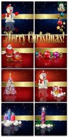 Новогодние фоны-Новогодние композиции.10 часть/Christmas backgrounds-Christ ...