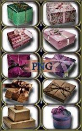 Png Клипарты - Подарочные коробки