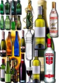 Png Клипарты - Бутылки из стекла