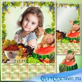 Календарь на 2019 год - Фрукты - символ долголетия, богатства, процветания  ...