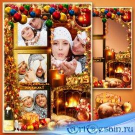 Рамка для фото - Новогодняя фотосессия