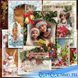 Рождественские праздничные рамки в png - Время доброго волшебства