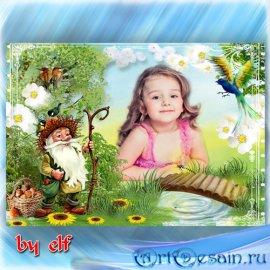 Рамка для детских фото - Сказки старого леса