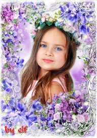 Рамка для фото - Цветов прекрасных аромат дурманит
