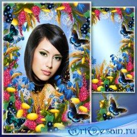 Цветочная рамка для Фотошопа - Одуванчики