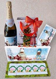 Новогодний подарочный набор - Дед Мороз и Снегурочка