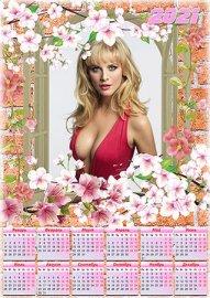 Календарь на 2021 год - Весна стучит в окно