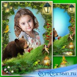 Сказочная детская рамка для фото - Восхождение